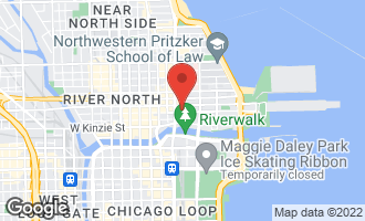 Map of 160 East Illinois Street #1903 CHICAGO, IL 60611