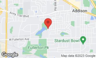 Map of 160 South La Londe Avenue 2G ADDISON, IL 60101