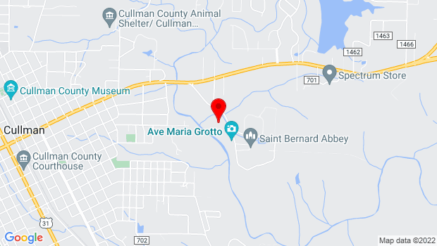 Google Map of 1600 St. Bernard Drive SE, Cullman, AL 35055