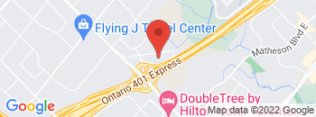 Google Map of 1600+Toyo+Circle%2CMississauga%2COntario+L4W+0E7