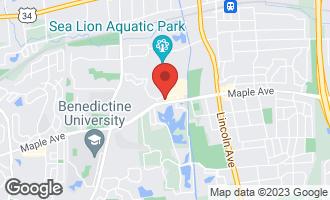 Map of 1600 Maple Avenue LISLE, IL 60532