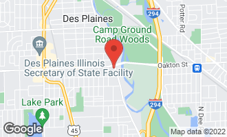 Map of 1602 South River Road DES PLAINES, IL 60018