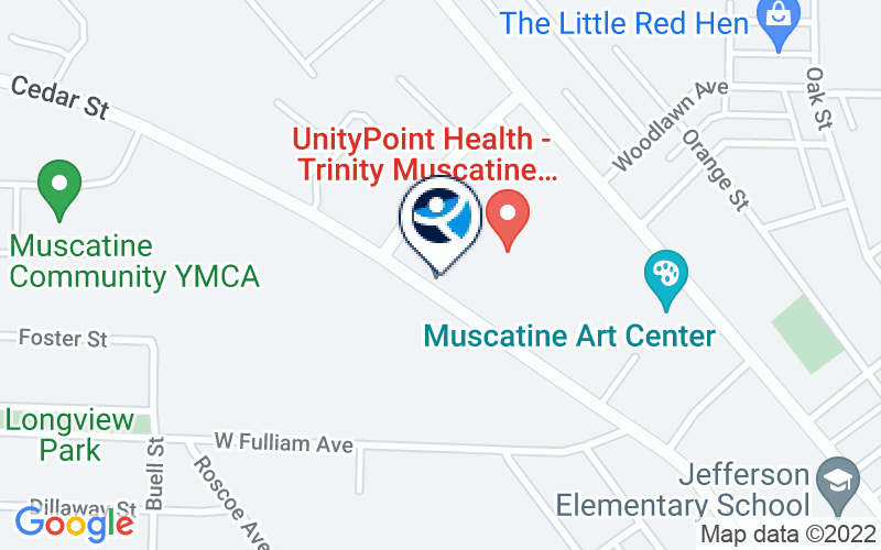 Trinity Muscatine New Horizons Outpatient Substance Abuse Program Location and Directions