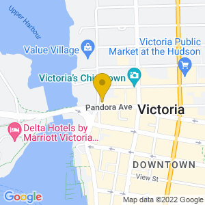 Map to The Rubber Boot Club provided by Google