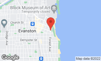 Map of 1608 Forest Place EVANSTON, IL 60201
