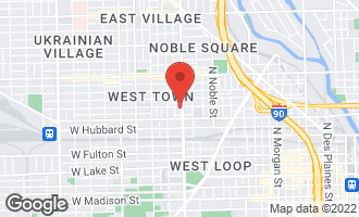 Map of 1609 West Ohio Street CHICAGO, IL 60622