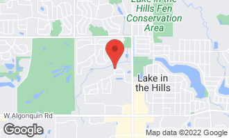 Map of 161 Polaris Drive #161 LAKE IN THE HILLS, IL 60156