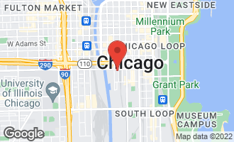 Map of 161 West Harrison Street #806 CHICAGO, IL 60605