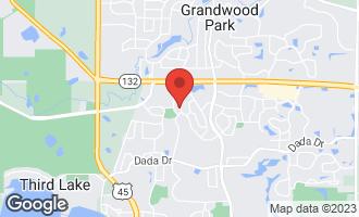 Map of 1614 Vineyard Drive GURNEE, IL 60031