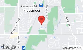 Map of 1617 Butterfield Road FLOSSMOOR, IL 60422