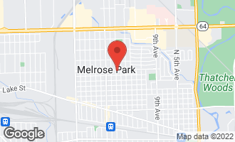 Map of 1620 Division Street MELROSE PARK, IL 60160