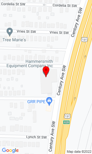 Google Map of Hammersmith 1621 Century Avenue SW , Grand Rapids, MI, 49503