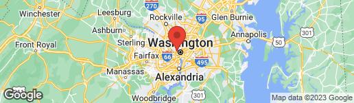 Map of 1622 33RD STREET NW WASHINGTON, DC 20007