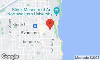 Map of 1624 Judson Avenue EVANSTON, IL 60201