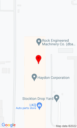 Google Map of REMco 1627 Army Court, Suite 1, Stockton, CA, 95206
