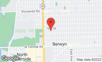 Map of 1627 Wenonah Avenue BERWYN, IL 60402