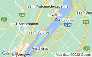 Map of Camping Le Marquis