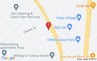 Google Map of 1630 Dale Earnhardt Blvd Kannapolis, NC 28083 U.S.A.