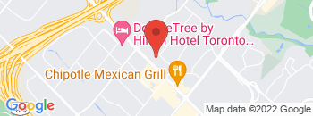 Google Map of 1630+Matheson+Blvd+East%2CMississauga%2COntario+L4W+1Y4