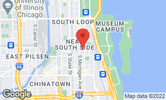 Map of 1632 South Indiana Avenue #106 CHICAGO, IL 60616