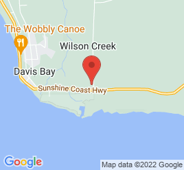 Google Map of 1633+Field+Road%2CSechelt%2CBritish+Columbia+V0N+3A1