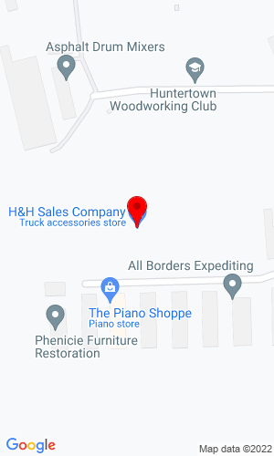 Google Map of H & H Sales Co., Inc. 16339 Lima Road, Huntertown, IN, 46748