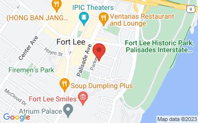 Map of Fort Lee, NJ (3rd Floor)