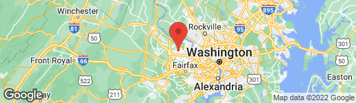 Map of 1638 PURPLE SAGE DRIVE RESTON, VA 20194