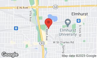 Map of 164 South Rex Boulevard ELMHURST, IL 60126