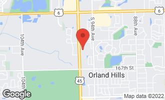 Map of 16418 Sharon Court ORLAND PARK, IL 60467