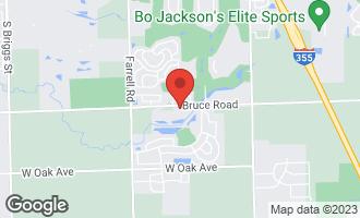 Map of 16442 Willow Walk Drive LOCKPORT, IL 60441