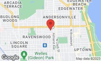 Map of 1646 West Carmen Avenue CHICAGO, IL 60640
