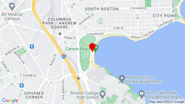 Google Map of 165 Day Boulevard, Boston, MA 02127