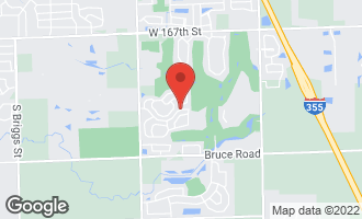 Map of 16501 West Montauk Drive LOCKPORT, IL 60441