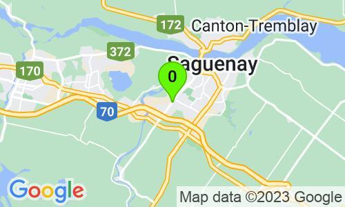 Carte du 1657, boulevard St-Paul, Chicoutimi, G7J3Y3, Québec