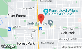 Map of 167 North Marion Street C5 OAK PARK, IL 60301