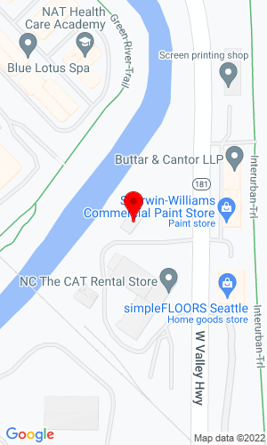Google Map of Machinery Power and Equipment Company 16711 West Valley Highway, Tukwila , WA, 98188