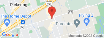 Google Map of 1675+Bayly+Street%2CPickering%2COntario+L1W+2Z1