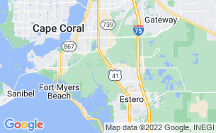 Map of Fort Myers RV Resort