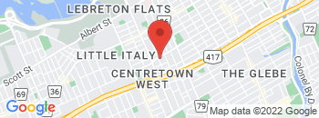Google Map of 169+Lebreton+Street%2COttawa%2COntario+K1R+7H7