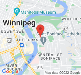 Google Map of 169+Provencher+Boulevard%2CWinnipeg%2CManitoba+R2H+0G2