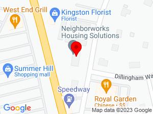 Google Map of Housing Solutions for Southeastern Massachusetts