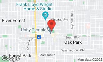 Map of 169 North Grove Avenue 5D OAK PARK, IL 60301