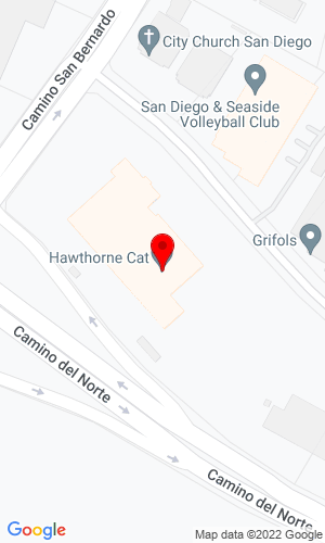 Google Map of Hawthorne Power Systems 16945 Camino San Bernardo, San Diego, CA, 92127