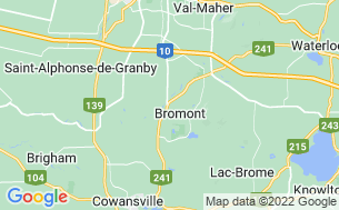 Map of Camping Koa Granby/bromont
