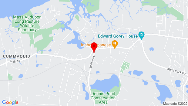 Google Map of 169B Rte 6A (Close To Willow), Yarmouth Port, MA 02675