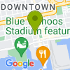 Google Map of 17 W Government St+Pensacola+FL+32502
