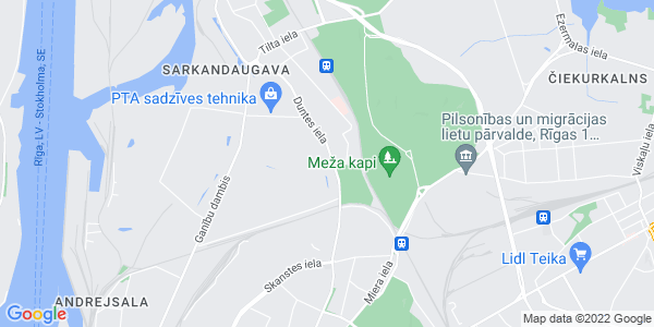 Google Map of 17+Duntes+str.%2C+Riga%2C+LV-1005%2C+Latvia