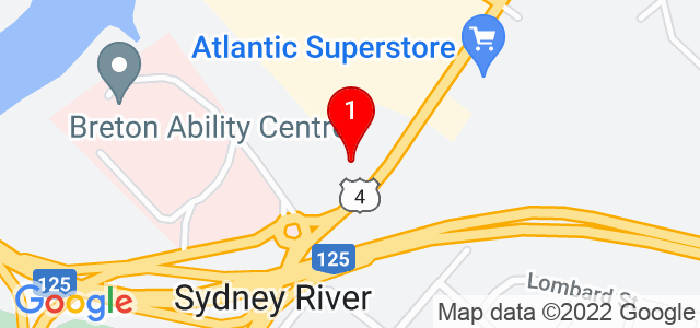 Google Map of 17-1290 Kings Road, Sydney, NS, Canada