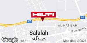 Get directions to Hilti Store Salalah